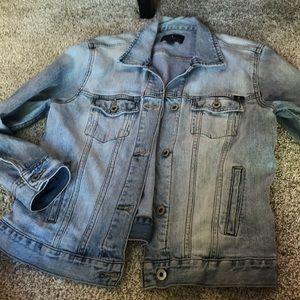 Light Wash Lucky Brand Denim Jacket